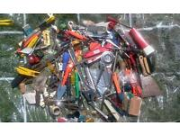 Joblot job lot of 100s to 1000s mostly used tools, diy, garden, fittings, etc