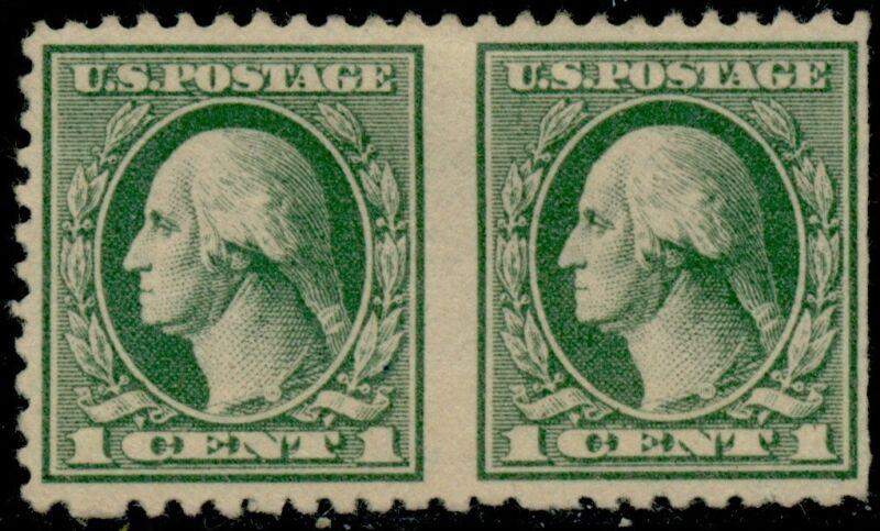 "#525c ""washington"" 1¢ Imperf Between Major Error -- Rare -- Cv $500.00 Bq5241"