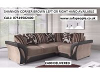 new shannon corner sofa or 3+2 sofas all different prices look through the pics to choose