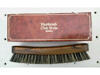 Hairbrush, boxed, Made in Germany, very well made and in very good condition.