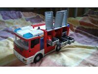 Playmobile fire engine