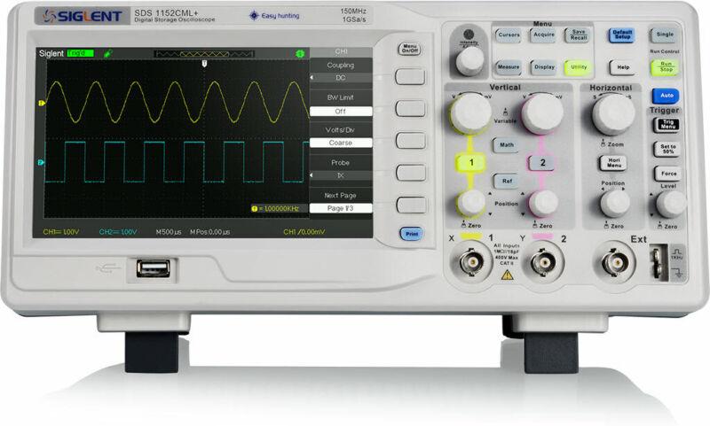 Siglent SDS1102CML+ - 2 Channel / 100 MHz Digital Oscilloscope