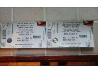 2 Rod Stewart tickets for Belfast on 14th November