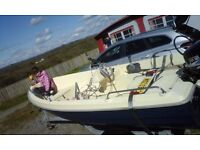 Boat SOLAR 360 4 Man complete and Ready to Sail