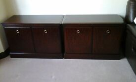 Stag Minstrel Cabinets, 2 x identical cabinets, 2 doors, £100 each