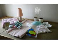 Nursery furnishings/baby items