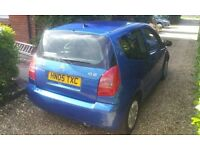 2005 1.4 HDI Citroen C2 Diesel, £20 Years Tax, Full Service History, Cambelt Just Replaced.
