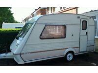 colchester 1500-2 ..2 berth caravan