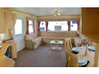 Static caravan for sale with indoor swimming pool in North Wales