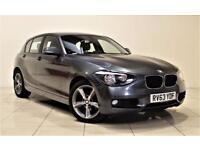 BMW 1 SERIES 2.0 120D XDRIVE SE 5d 181 BHP + 1 PREV OWNER + SE (grey) 2013