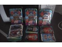 Match Attack Football Cards With Tins