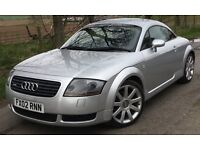 Audi TT Coupe QUATTRO MK1 1.8T 225 BHP (BAM Engine) Silver Sports Coupe