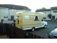 1981 mk2 transit motor home 5 berth, outstanding vehicle for its age, all original appliances