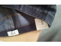 """brand new ladies womens bootcut jeans size 22, 32"""" leg. new with labels and bagged"""