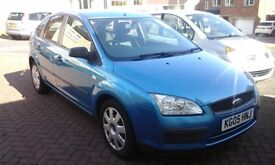ford focus 1.6 lx 2005 reg five door stamped service history 12 stamps in book