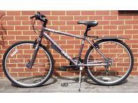 "Apollo Cosmo Urban Mountain Bike (17"" frame 26"" wheels, 18 gears)"