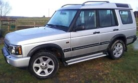 Discovery Landmark TD5 2004, Automatic. Silver. Good clean condition. New MOT