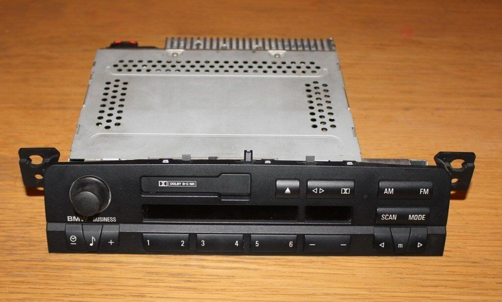 BMW E46 Original in-dash stereo. House clearance sale!