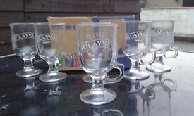 Irish/Liqueur Coffee Glasses x 6