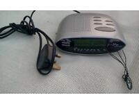 Morphy Richards Radio Alarm Clock