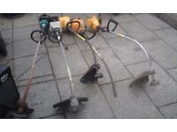 Lawn mowers and strimmers for spares or repairs