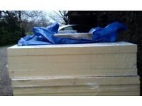 60mm foiled 1200 x 2400 foiled insulation slabs new. £24