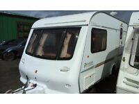 2001 Elddis Avante 482 caravan, motor mover & extras, 2 berth