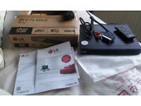 LG Slim DVD Player with USB DivX - New & Boxed