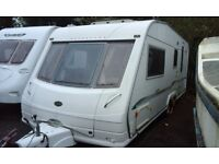 2004 Bessacarr Cameo 550GL, twin axle 4 berth caravan with awning & extras
