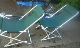 Aluminum frame chairs feel free to contact me