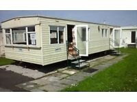 3 Bed static caravan to rent at Windy Harbour only 6 miles from Blackpool.