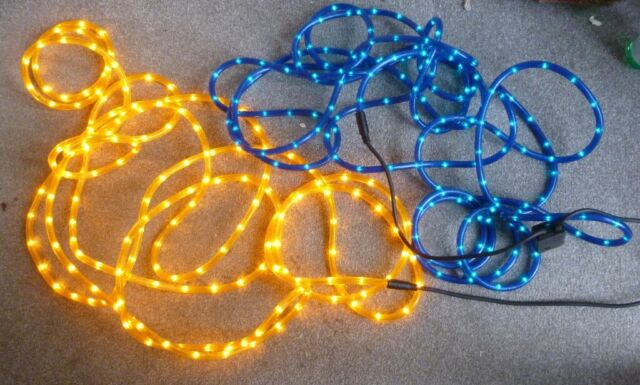 huge selection of b6125 1730e 2 long sets of Outdoor Flashing led Rope Lights | in Wymondham, Norfolk |  Gumtree