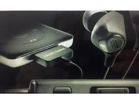 BlackBox i10 in unopened ear noise cancelling earphones.