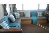 Deluxe8 Berth Caravan Hire/ Rent @ Havens Haggerston Castle Northumberland/Berwick/Scottish Borders