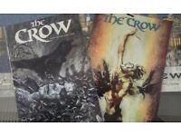 CROW COMICS AND EXTRA PHOTO