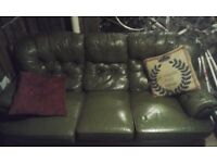 CHESTERFIELD SOFA (CLEANED)