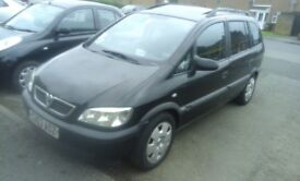LPG Dual fuel Vauxhall Zafira CHEAP FUEL 300miles for about £25, Cheaper TAX and insurance, manual