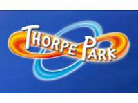 Thorpe park Tickets x 2 for Friday 1st October