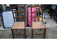 A Pair of Old Chairs