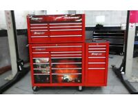 """Snap on 40"""" Tool Chest and Side Cabinet, --- Immaculate Condition"""