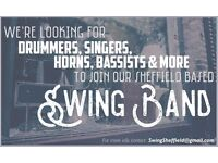 DRUMMER WANTED FOR SHEFFIELD BASED SWING BAND