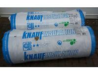 2 rolls of insulation - Knauf Insulation earthwool 150mm