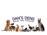 Dog run dog kennel aviary panel