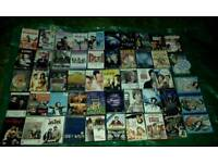 DVD movies, cassettes and box sets joblot