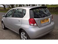 Chevrolet kalos 1.4 SX - MOT 04/17 - Reliable little car