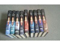 Bundle of Doctor Who books - Tennant & Eccleston