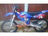 Boys bike never used, excellent condition, age 8 upwards . Tel 07968560157