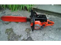Jonsered 18 inch petrol chainsaw