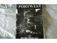 PORTWEST SAFETY BOOTS WATERPROF AND GLOWES
