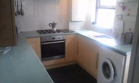 Room available in student house. Central heating and all bills included. Near city centre.